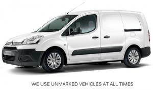 Unmarked Pest Control Van